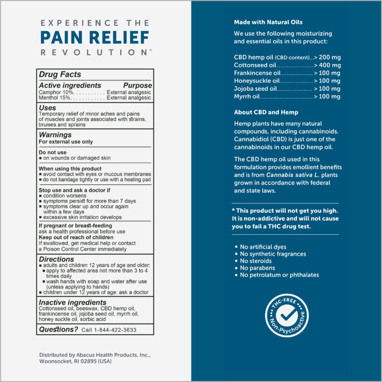ACTIVE SPORT PAIN RELIEF OINTMENT | CBDMEDIC