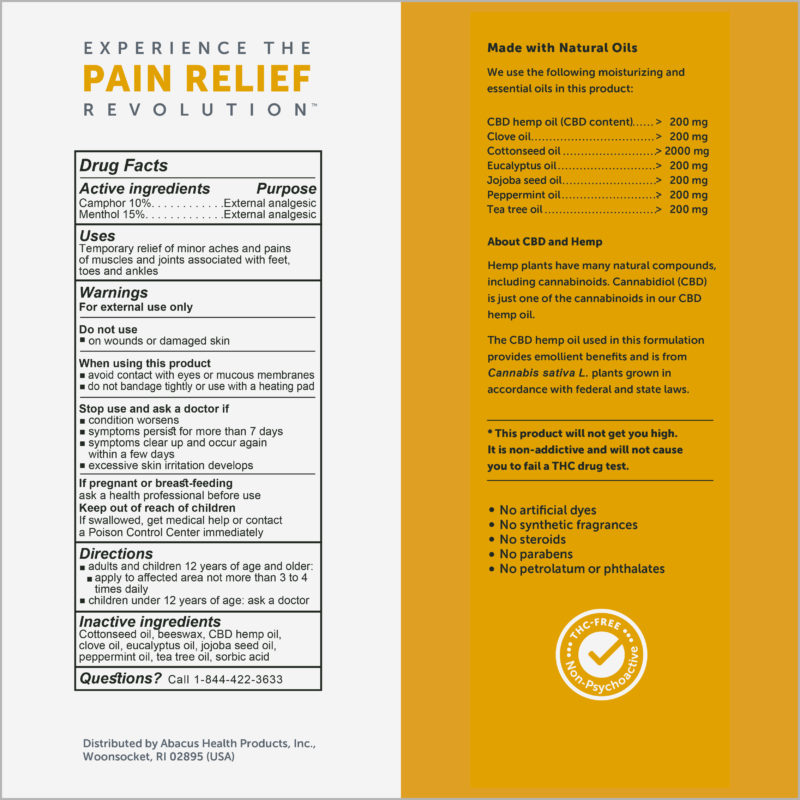 FOOT& ANKLE PAIN RELIEF OINTMENT | CBDMEDIC