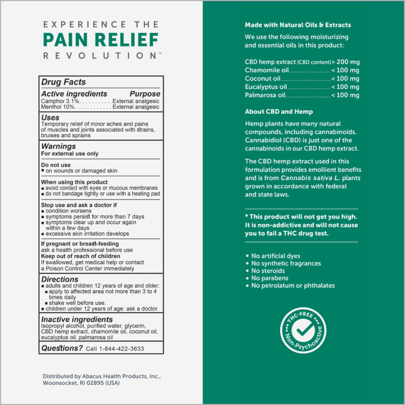 MUSCLE & JOINT PAIN RELIEF SPRAY | CBDMEDIC